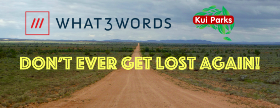 Don't ever get lost again with what3words