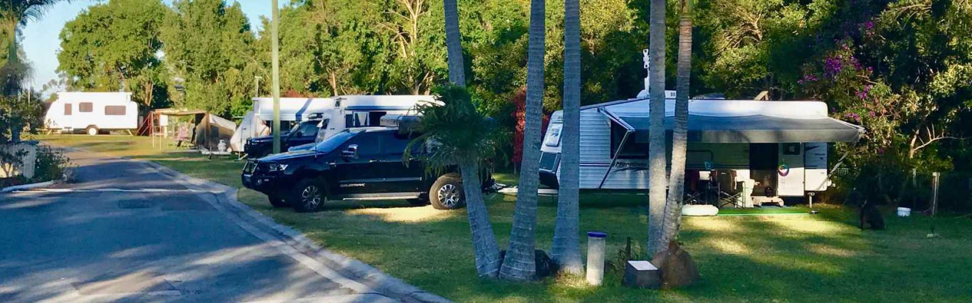 Kui Parks, Ocean View Tourist Park, Landsborough QLD