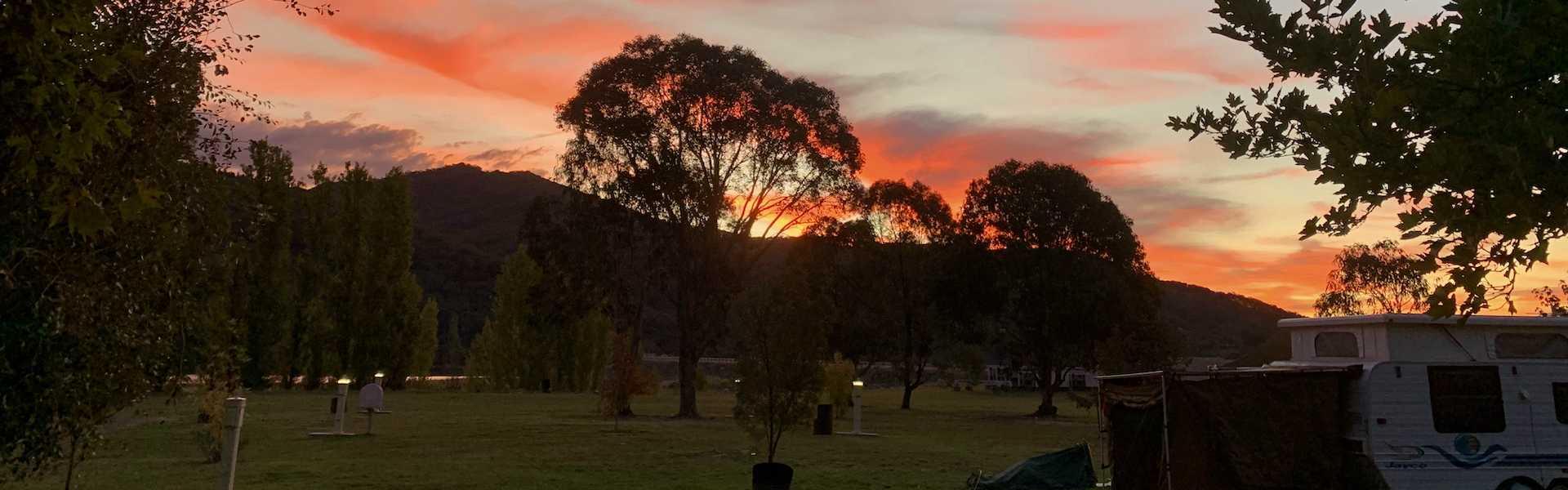 Kui Parks, Khancoban Lakeside Caravan Park NSW