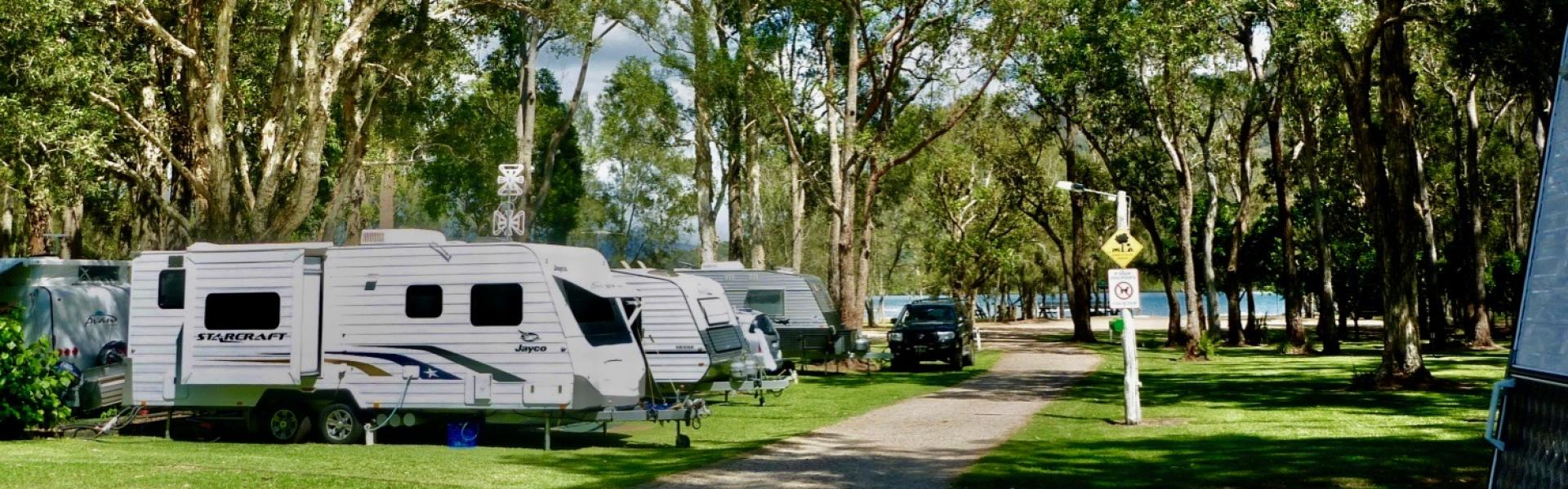 Kui Parks, Diamond Waters Caravan Park, Dunbogan NSW