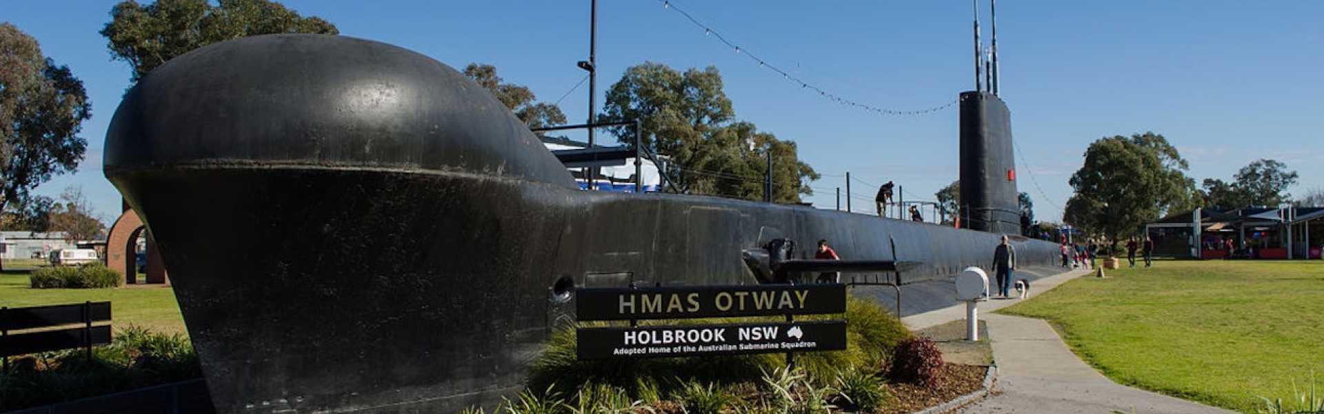 Holbrook Submarine