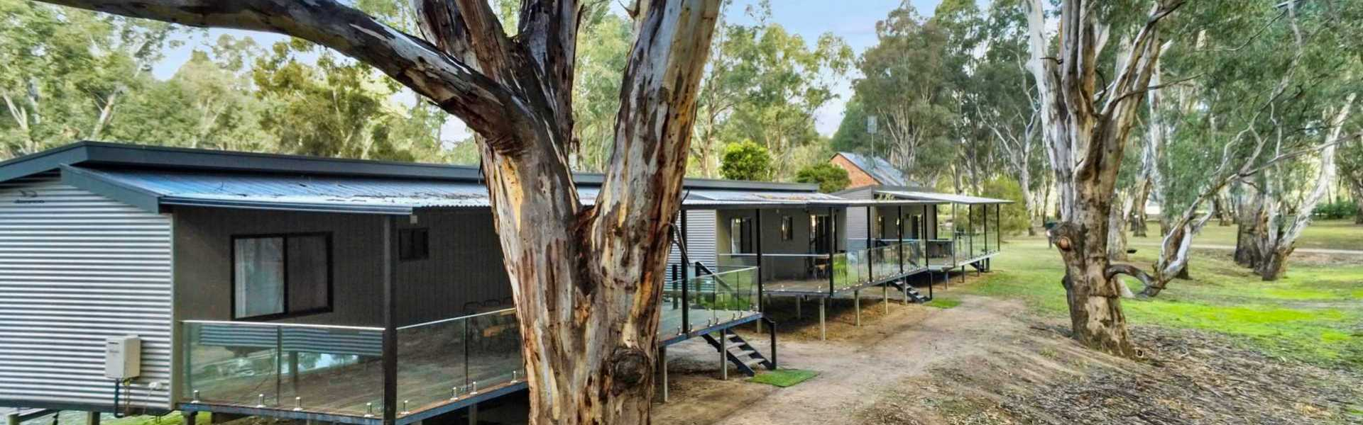 Kui Parks, Bushland on the Murray Holiday Park, Cabins