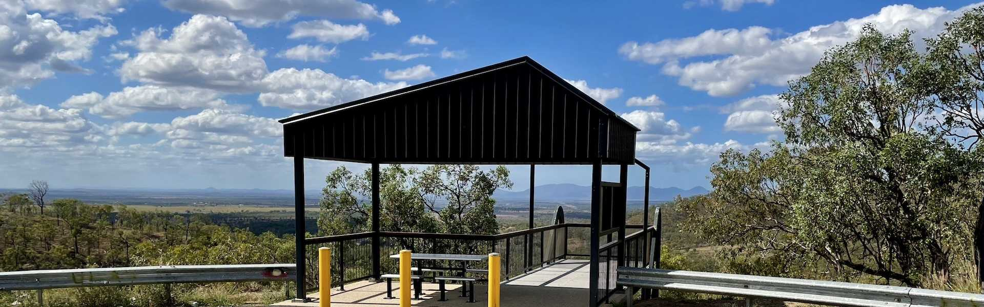 Kui Parks, Mount Morgan Motel & Van Park, Bouldercombe Lookout