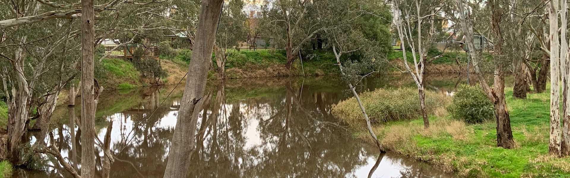 kui parks, charlton, travellers rest, caravan park, avoca river