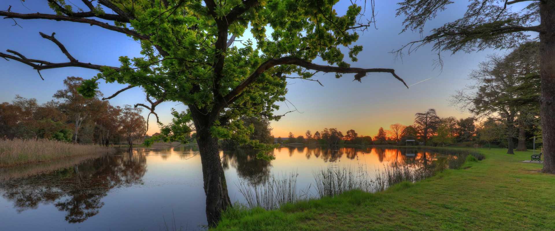 Kui Parks, Lake Anderson Caravan Park, Chiltern VIC