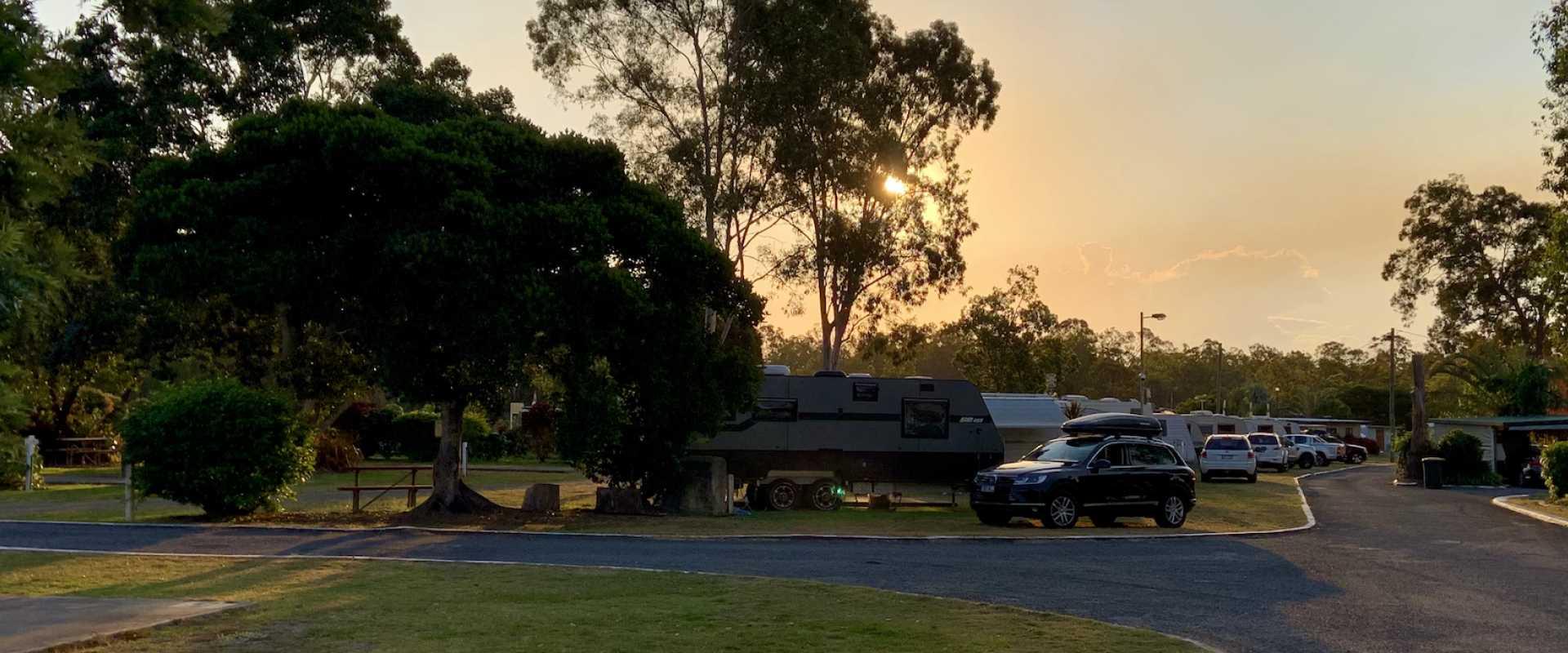 Kui Parks, Burrum River Caravan Park, Howard QLD