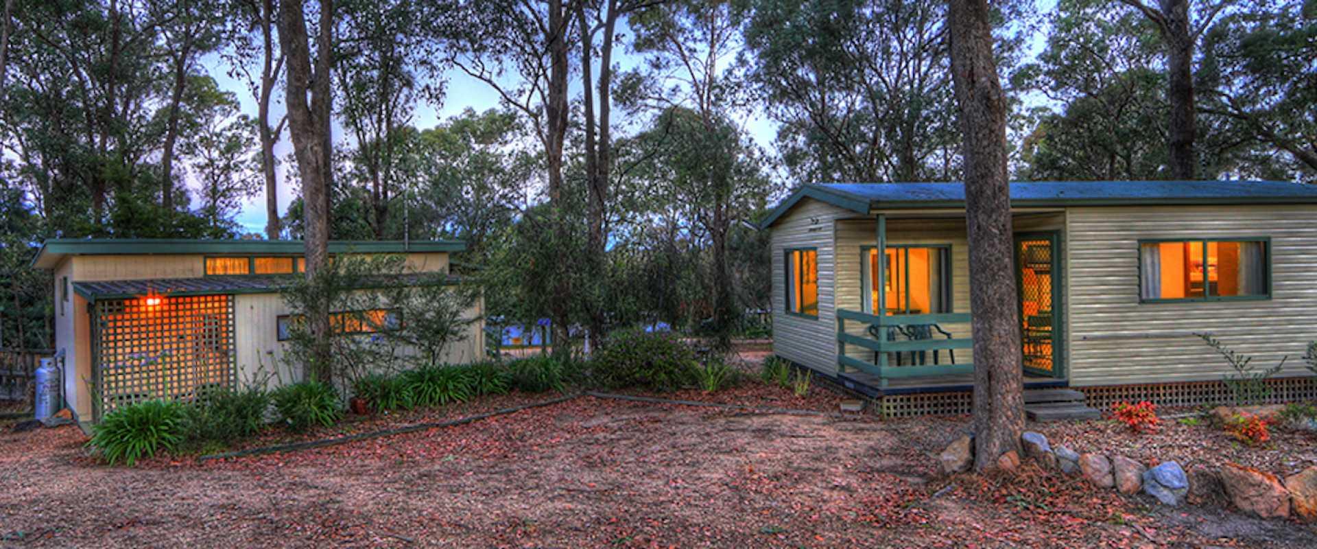 Kui Parks, Lakes Bushland Caravan Park, Nicholson VIC