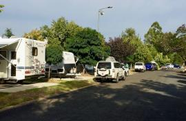Kui Parks, Inverell Caravan Park, Sites