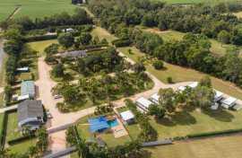 Kui Parks, Crystal Creek Caravan Park, Mutarnee, Drone