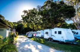 Kui Parks, Iluka, Clarence Head Caravan Park, Sites
