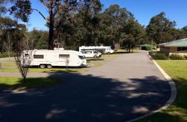 Kui Parks, Manjimup Central Caravan Park, Sites