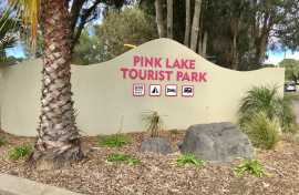 Kui Parks, Pink Lake Tourist Park Entrance, Esperance