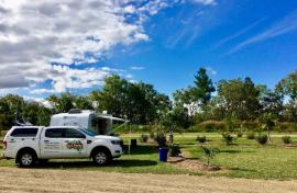 Kui Parks, Trinity Plains Tourist Park, Mareeba, Sites