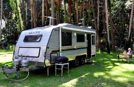 Kui Parks, Twin Dolphins Holiday Park, Tuncurry, Sites