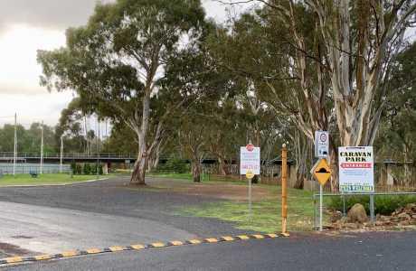 kui parks, charlton, travellers rest, caravan park, powered sites