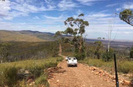 Kui Parks, Melrose Caravan & Tourist Park, Bridle Track