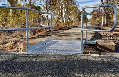 Kui Parks, Melrose Caravan & Tourist Park, Cycle Track