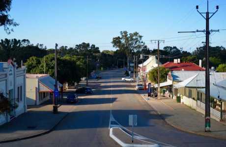 Kui Parks, Melrose Caravan & Tourist Park, Melrose Town