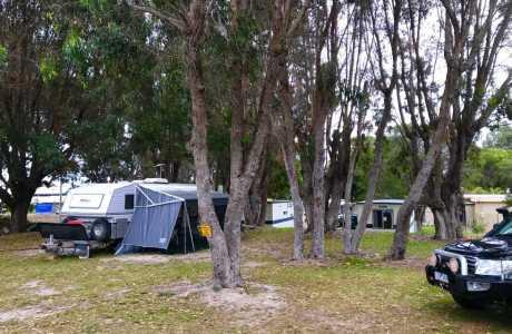 Kui Parks, Pink Lake Tourist Park, Sites, Esperance