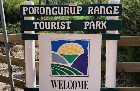 Kui Parks, Porongurup Range Tourist Park, Signage